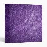carpeta de cuero púrpura de la textura