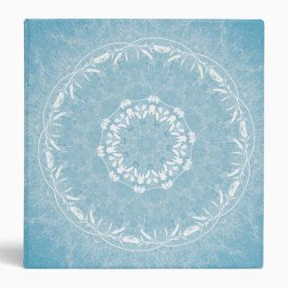Carpeta de encaje de la mandala de las flores