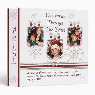 Carpeta de encargo de la foto del navidad - talla