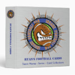 Carpeta de encargo de la tarjeta del fútbol