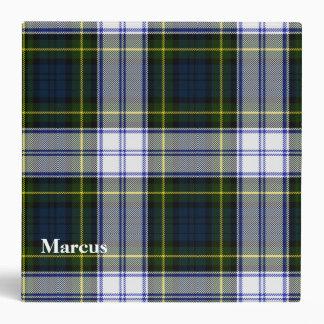 Carpeta de encargo de la tela escocesa de tartán d