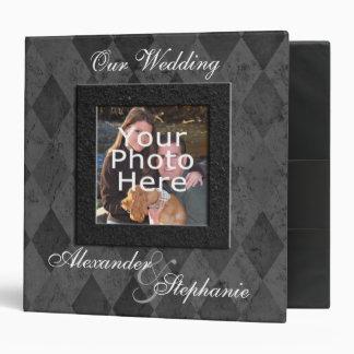 Carpeta de encargo del álbum de foto del boda