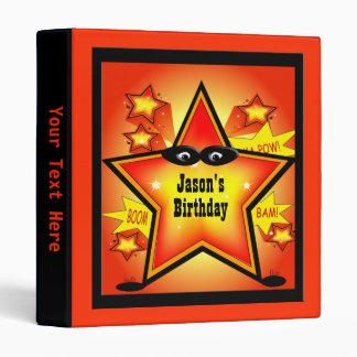 Carpeta de encargo del cumpleaños del niño de la e