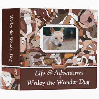 Carpeta de encargo del libro de la foto del perro