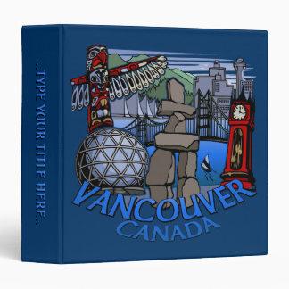 Carpeta de encargo del libro de Vancouver de la ca