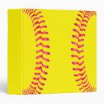 Carpeta de encargo del softball