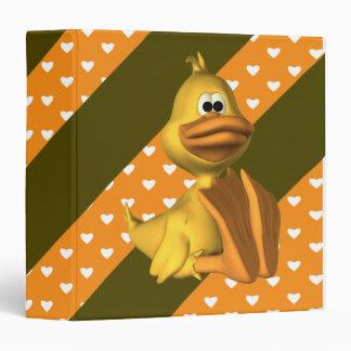 Carpeta de goma de Avery del pato