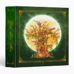 Carpeta de hadas encantada de la pulgada del árbol