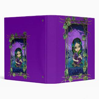 Carpeta de hadas gótica del dragón del jardín II