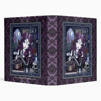 """Carpeta de hadas mágica gótica del arte """"del"""