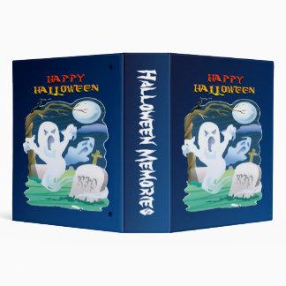 Carpeta de Halloween de la calabaza de los fantasm