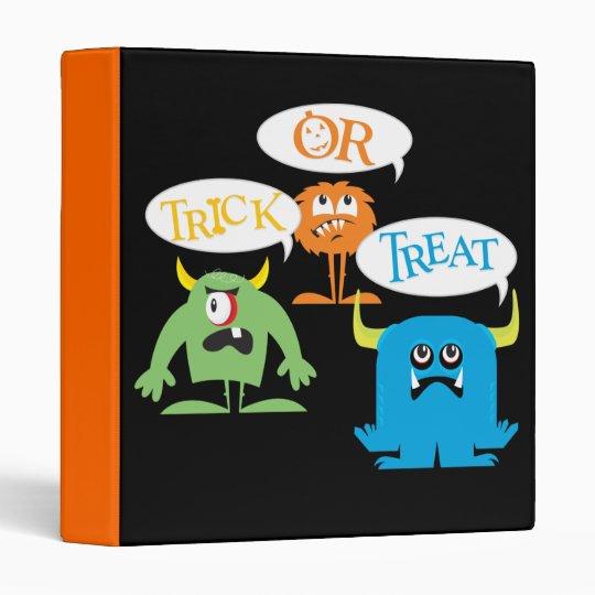 Carpeta de Halloween del monstruo