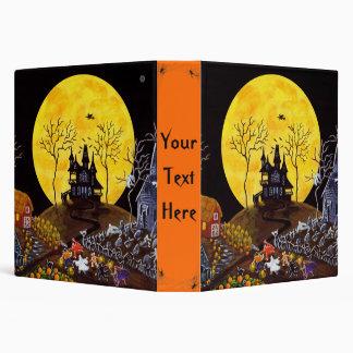 Carpeta de Halloween para las fotos, las recetas p
