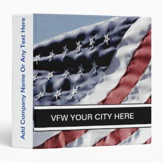 Carpeta de la bandera americana de VFW