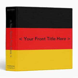 Carpeta de la bandera de Alemania