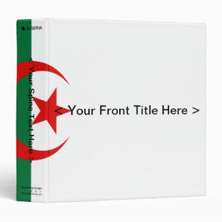 Carpeta de la bandera de Argelia