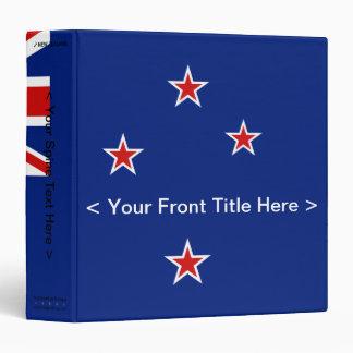 Carpeta de la bandera de Nueva Zelanda