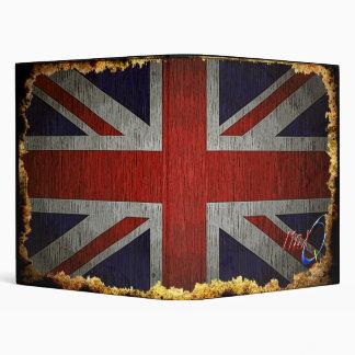 Carpeta de la bandera de Reino Unido Union Jack