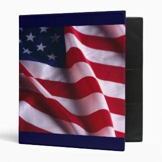 Carpeta de la bandera nacional de los Estados Unid