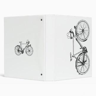Carpeta de la bicicleta del vintage