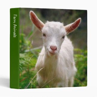 Carpeta de la cabra del niño
