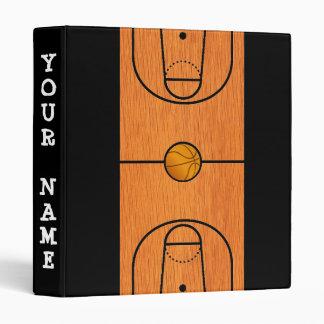 Carpeta de la cancha de básquet - regalos de