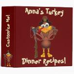 Carpeta de la carpeta de la cena de Turquía de la