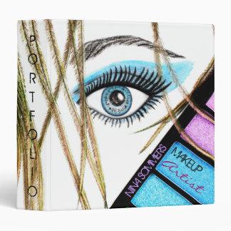 Carpeta de la cartera del artista de maquillaje
