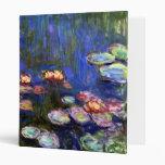 Carpeta de la charca del lirio de agua de Monet