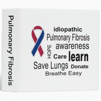 Carpeta de la conciencia de la fibrosis pulmonar