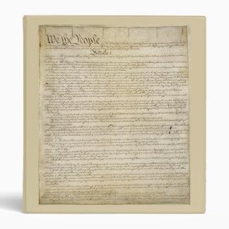 Carpeta de la constitución de los E.E.U.U.