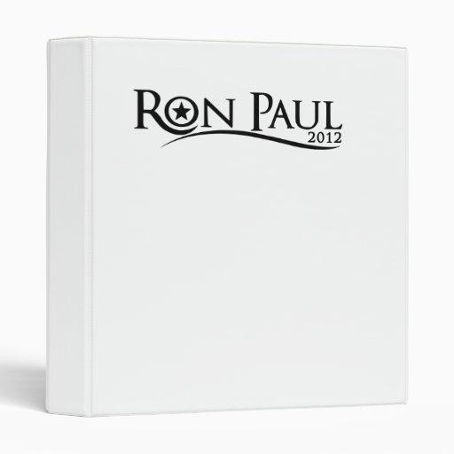 Carpeta de la curva de Ron Paul