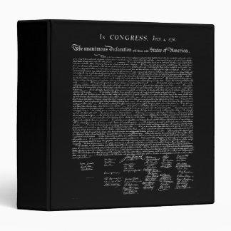 Carpeta de la Declaración de Independencia