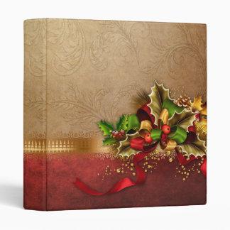 Carpeta de la decoración del navidad