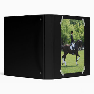 Carpeta de la demostración del caballo del