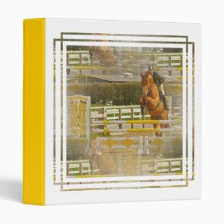 Carpeta de la demostración del caballo del puente