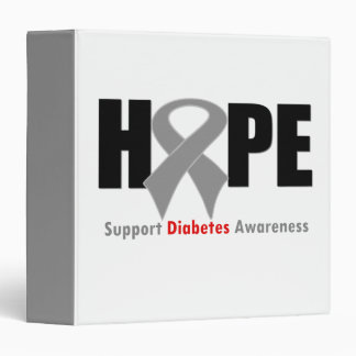 Carpeta de la diabetes de la cinta de la ESPERANZA