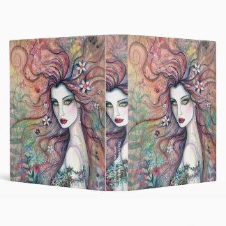 Carpeta de la diosa de la flor por Molly Harrison
