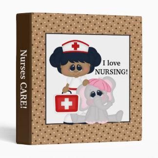 Carpeta de la diversión de la enfermera y del