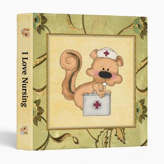 Carpeta de la enfermera de la diversión