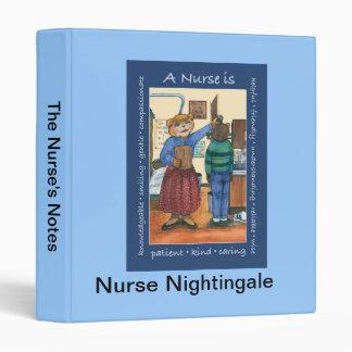 Carpeta de la enfermera de la escuela