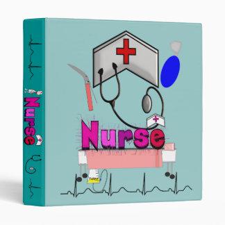Carpeta de la enfermera, diseño único para las