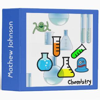Carpeta de la escuela de la química de la diversió