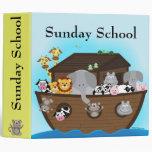 Carpeta de la escuela dominical de la arca de Noah