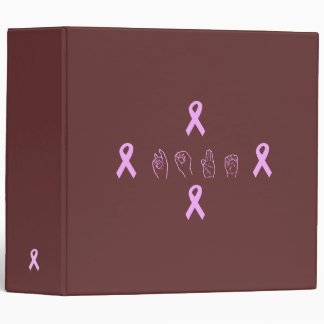 Carpeta de la esperanza del cáncer de pecho del