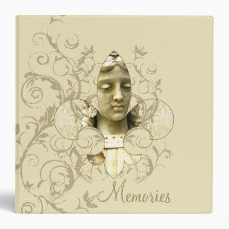 Carpeta de la estatua del ángel de Fleur