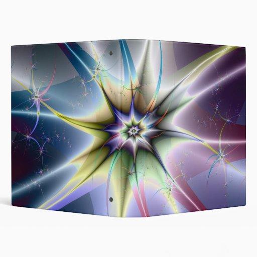 Carpeta de la explosión de la estrella