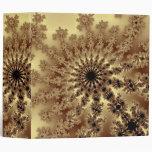 Carpeta de la explosión del fractal del oro