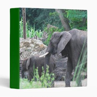 Carpeta de la familia del elefante