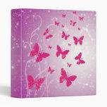 Carpeta de la fantasía de la mariposa